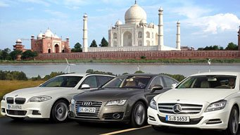 Taj Mahal Tour By Mercedes/BMW/Audi
