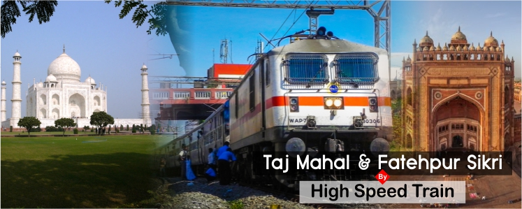 Day Trip to Taj Mahal by Train